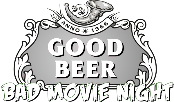 Good Beer Bad Movie Night Logo
